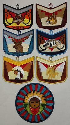 Section W5D 2006 Conclave Full Patch Set Lodge 407 508 520 535 Mint FREE SHIP