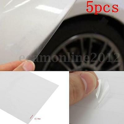 5X Clear Car Door Sill Edge Paint Protection Film Anti-Scratch Guards Sheet DIY