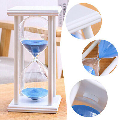 Vintage Hourglass 30 Minute Sand Timer Sandglass Clock 8 Styles Home Room Decor