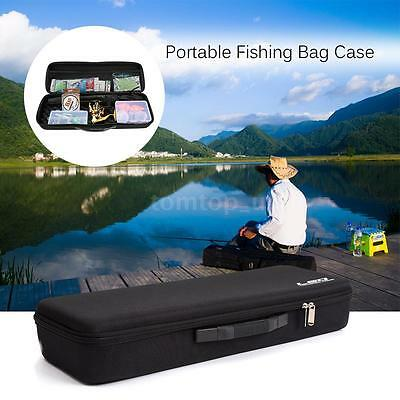 Portable EVA Shockproof Fishing Rod and Reel Carry Bag Hunting HOT Sale New!
