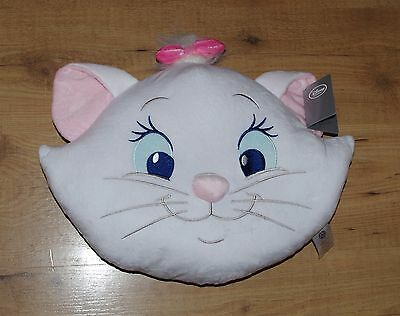 Genuine Disney Store Marie Big Face Cushion Aristocats soft toy plush white cat