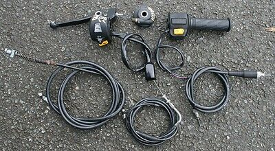 Peugeot Kisbee 50X 50 X 2011 Left Right Switchgears Switches Speedo Drive Cables