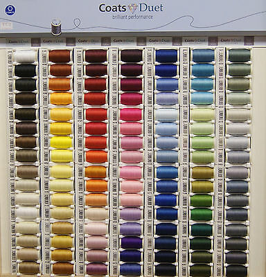 Coats Duet Sewing Thread   100% Polyester   100M   PINKS & PURPLES  