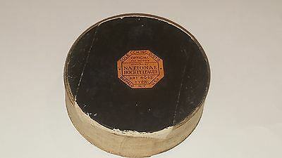 NHL Octagonal Art Ross Tyer 1950's Game Puck With 16 Signatures Autographs