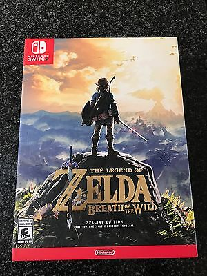 The Legend of Zelda: Breath of the Wild Special Edition Nintendo Switch Limited