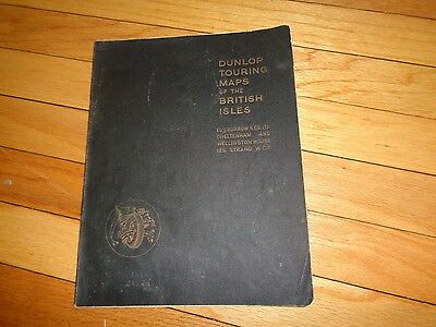 Dunlop Touring Maps of the British Isles England Scotland Great Britain