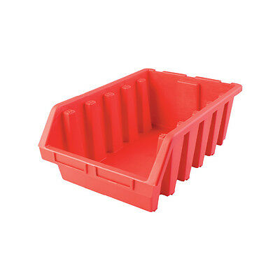 Matlock Mtl5 Hd Plastic Storage Bin Red