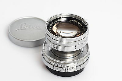 Leitz / Leica M39 Summicron 2/5cm Collapsible