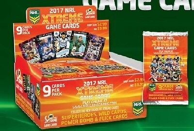 2017 NRL ESP Xtreme Game card common set of 160 cards