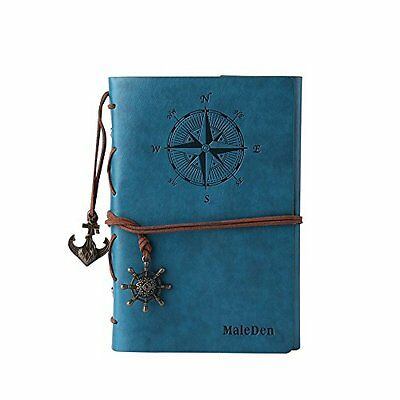 Leather Writing Journal Notebook Refillable Diary Sketchbook Gifts Travel Gift