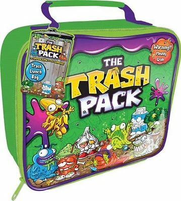 Trash Lunch Bag Green School Travel Gift Kids Children Pack Zip Journey Food Fun