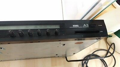 Korg A3 Guitar Effect Processor Multi Fx Delay Vintage Rack 220V Ww Ship