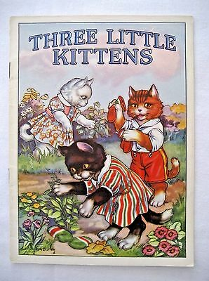 1939 Forest Park National Bank Forest Park IL Childs Booklet Ad 3 Little Kittens