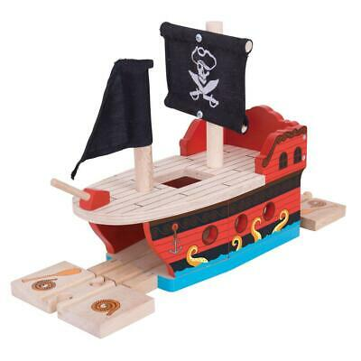 Pirate Galleon - Bigjigs Free Shipping!