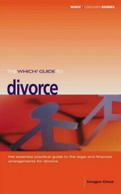 """""""Which?"""" Divorce (""""Which?"""" Consumer Guides) by Imogen Clout Paperback Book The"""