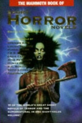 The Mammoth Book of Short Horror Novels (Mammoth Books) Paperback Book The Cheap