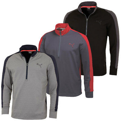44% OFF RRP Puma Golf Mens PwrWarm 1/4 Zip Popover Sweater 569100 Pullover