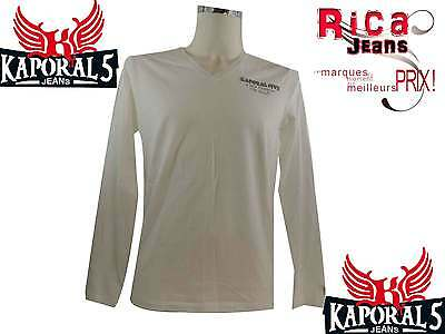 Tee Shirt Manches Longues Homme  Kaporal5 Homme  Ucla White