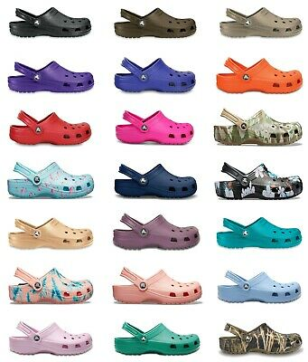 Crocs Adults Mens Womens Classic Cayman Clogs New Colours & Sizing For 2019