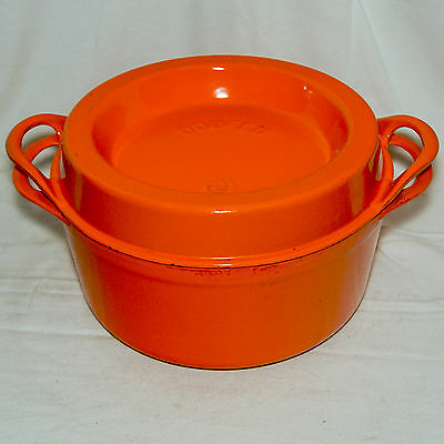 Cocotte Cousances Le Creuset Doufeu Orange 26 Dutch Oven Braiser 5.3L