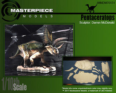 1/10th scale Pentaceratops resin assembly kit