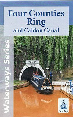 Four Counties Ring and Caldon Canal Map
