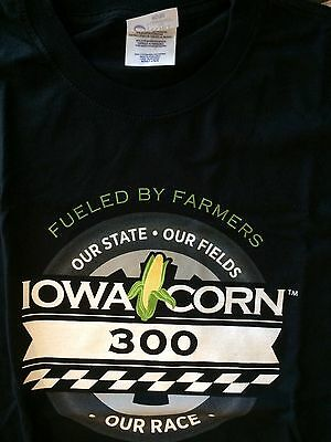 Iowa Corn Racing TEE SHIRT, LARGE, NWOT