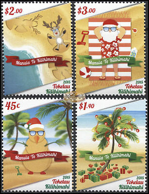 Tokelau. 2015. Tokelau Kilihimahi - Christmas (MNH OG) set of 4 stamps