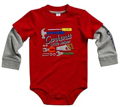 Carhartt Baby - Little Helper Bodysuit, Raglan Sleeves Tool Graphics - Baby Gift