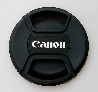 72mm Center Pinch Front Lens Cap for Canon E-72 II EFS 15-85mm 18-200mm 28-200mm