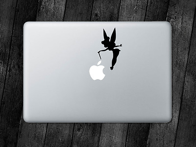 Tinkerbell Sticker Fairy Disney Decal Apple MacBook Mac iPad Laptop Window Car