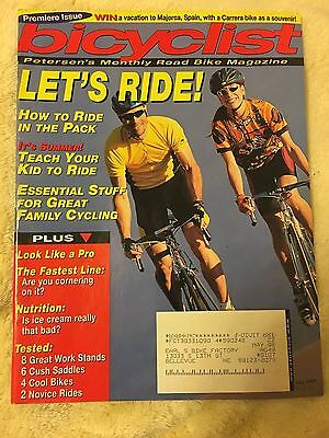 Original July 1997 Premiere Issue Bicyclist Petersen's Monthly Road Bike Mag