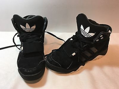 d46058219136 Mens adidas Originals Streetball 1.5 Classic Sneakers Black White G99874  Size 13
