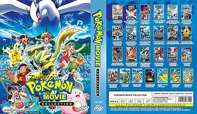 ANIME DVD~Pokemon 21 in 1 Movie Collection~Eng sub&All region FREE SHIPPING+GIFT
