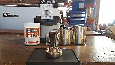 Home Espresso Coffee Barista Kit Cheap Cafe Tamper Milk Jug Machine Accessories