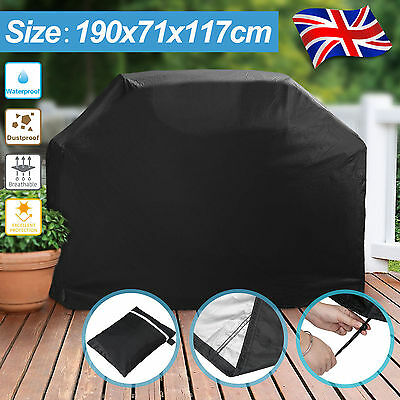 Extra Large Heavy duty BBQ Cover Waterproof Rain Snow Barbeque Grill Protector