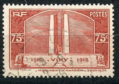 Promo / Stamp /  Timbre France Oblitere  N° 316 Monument De Vimy