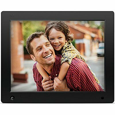 NIX Advance - 12 inch Digital Photo amp; HD Video (720p) Frame with Motion amp;