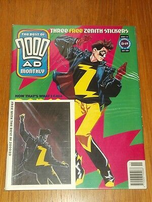 2000Ad Best Of Monthly # 110 Judge Dredd Comic With Free Gift
