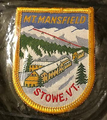 STOWE MT. MANSFIELD Skiing Ski Patch VERMONT VT Souvenir Resort Travel
