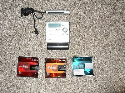 Sony Recordable Walkman Minidisc Player + Remote Commander=Mz-R909+Rm-Mc11El