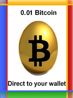 0.01 Bitcoin ( 0.01 btc ) - Direct to your wallet + BONUS (Mining contract)