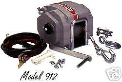 Powerwinch Model 912 Electric Trailer Winch