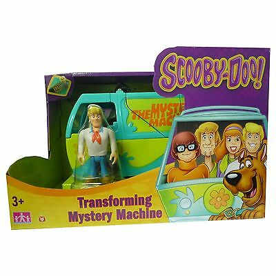 Scooby Doo Transforming Mystery Machine with Fred Figure TOY NEW