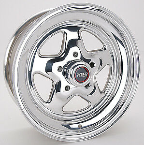 Weld Racing Pro Star Wheel 15x6 in 5x4.50 in BC P/N 96-56206