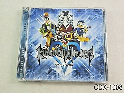 Kingdom Hearts 1 Original Soundtrack Music CD 2CD Japan Import JP OST US Seller