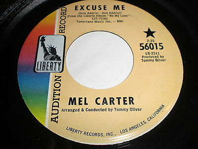Mel Carter: Excuse Me / The Other Woman 45