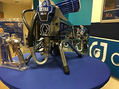 Graco Ultra 395 PC Stand # 17C314 or 826-196 Complete w Gun & Hose