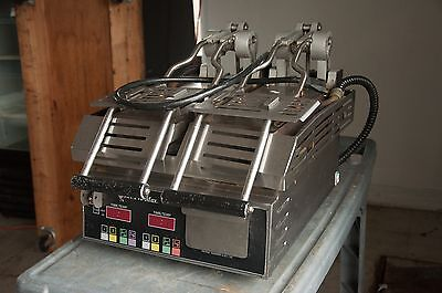 2013 Star Pro Max GR14STE smooth two-sided panini grill, pro lift hinges