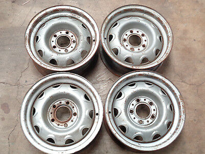 Mopar 14x5.5 Rally Rims Wheels Set Of 4 Challenger Charger Cuda GTX RT J12349